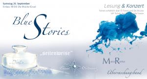 """""""Blue Stories"""" Lesung & Konzert"""